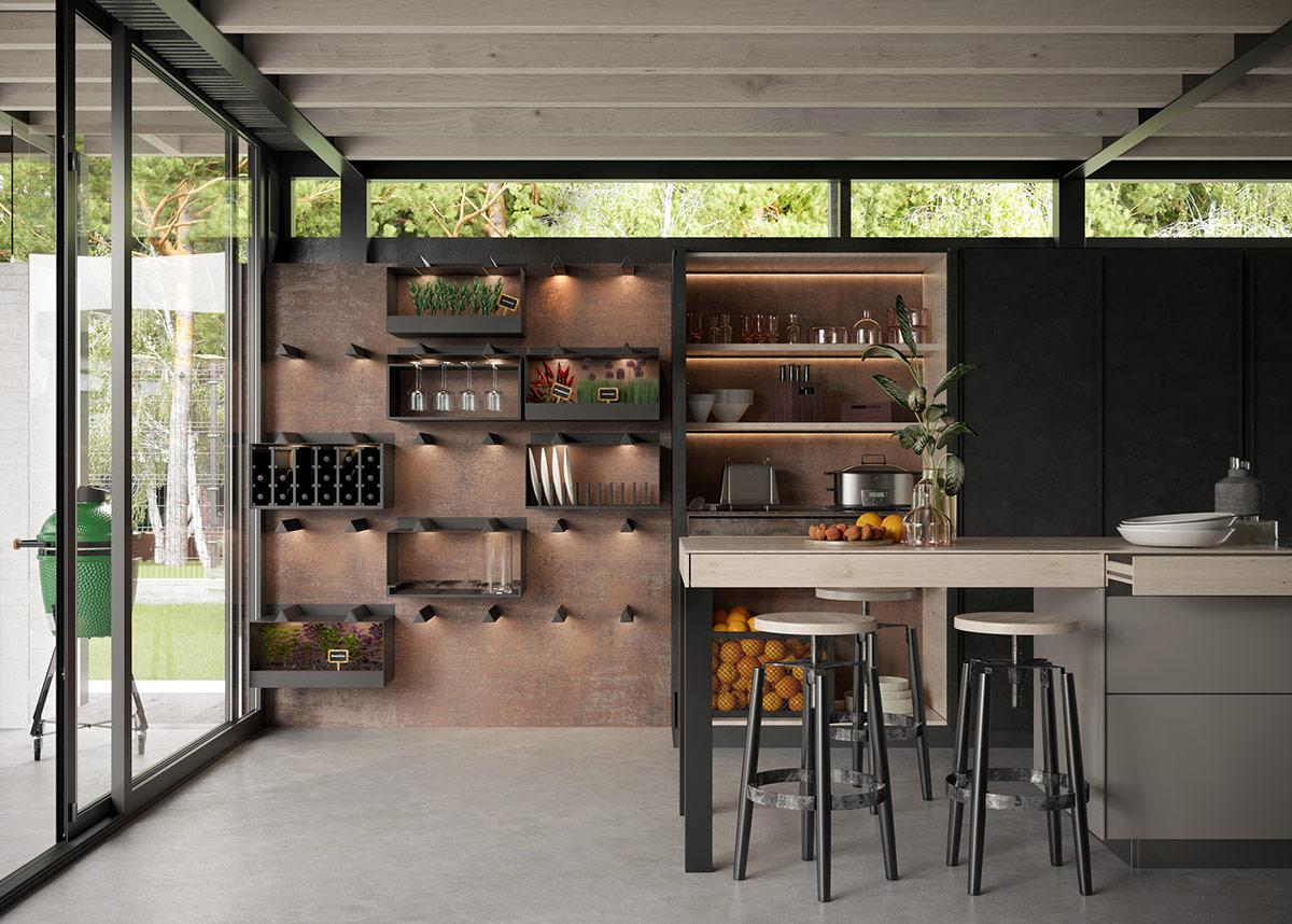 Salon Cuisine Style Industriel décoration : trois intérieurs enviables de style industriel