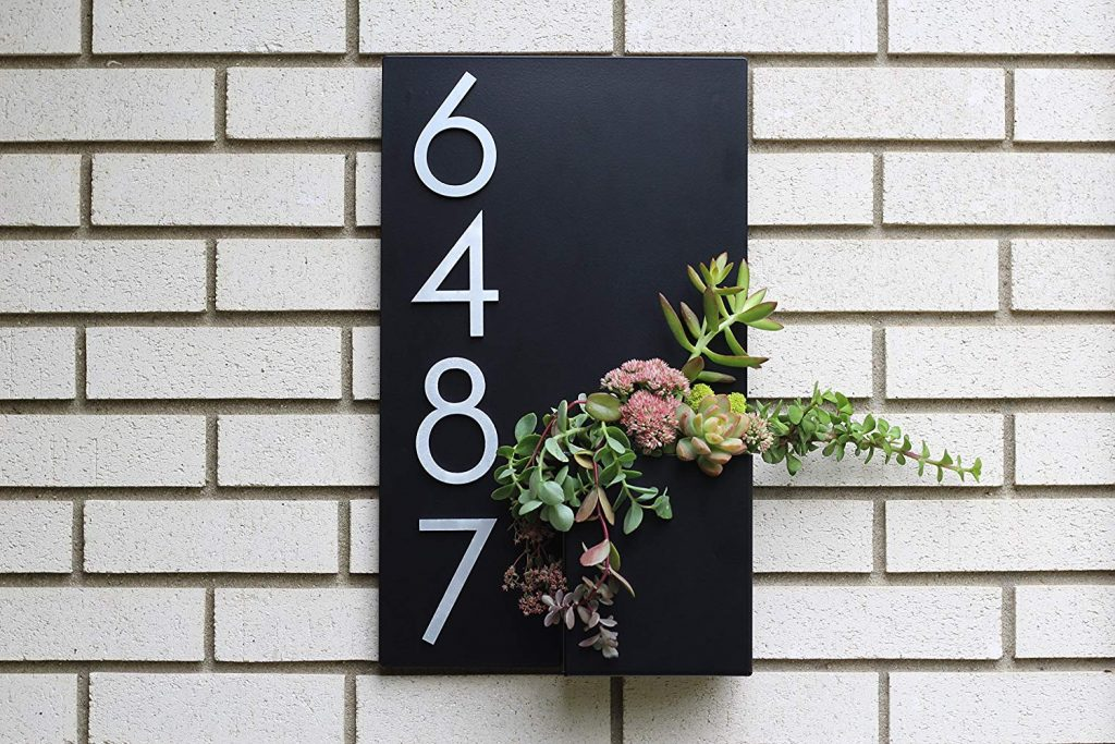 51 House Numbers For Fabulously Functional Curb Appeal