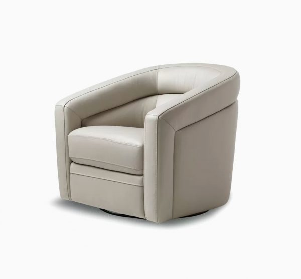 51 Barrel Chairs With Statement Piece, Modern Swivel Bucket Chairs