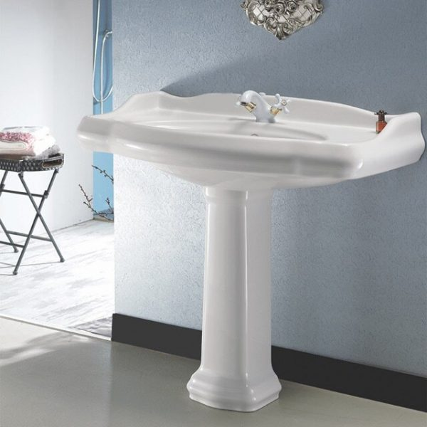 54 Pedestal Sinks To Streamline Your Bathroom Design