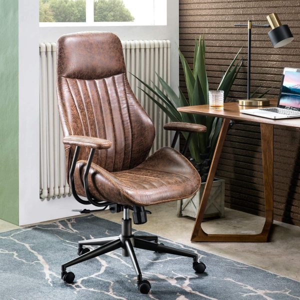 51 Leather Faux Leather Chairs That Redefine Classic Comfort