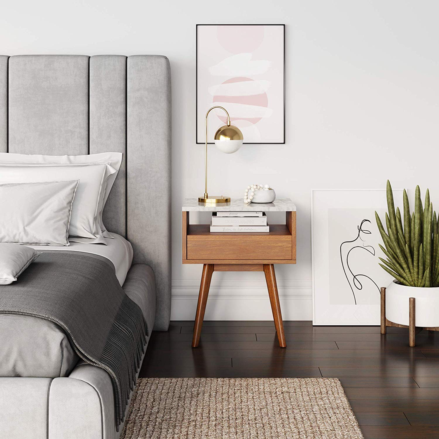 10 Bedside Tables that Blend Convenience and Style in the Bedroom