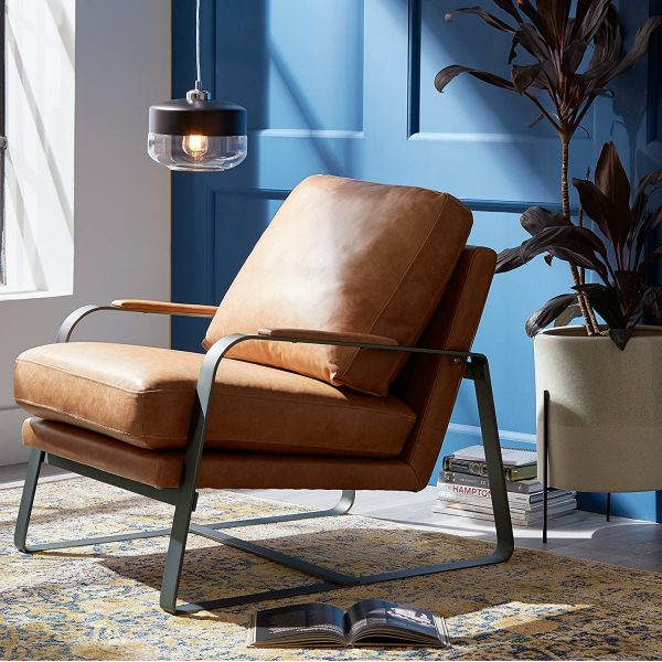 51 Leather & Faux Leather Chairs that Redefine Classic Comfort