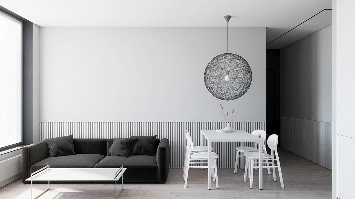 Balancing Modern Minimalism In Black And White