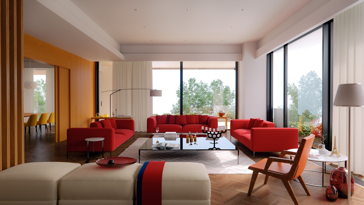 51 red living rooms with tips and accessories to help you