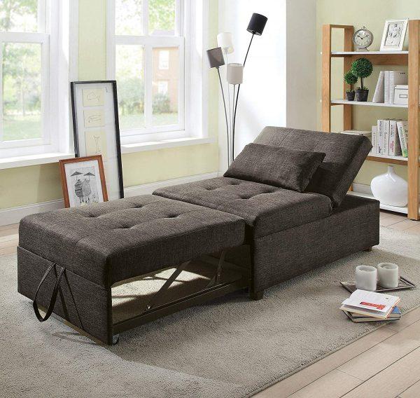 51 Sleeper Chairs For Space Saving, Single Sofa Bed Chair Ikea