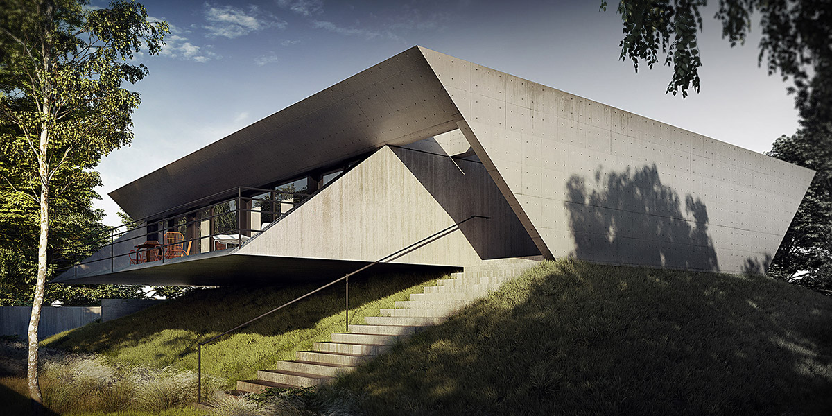 51 Brutalist House Exteriors That Will Make You Love Concrete Architecture