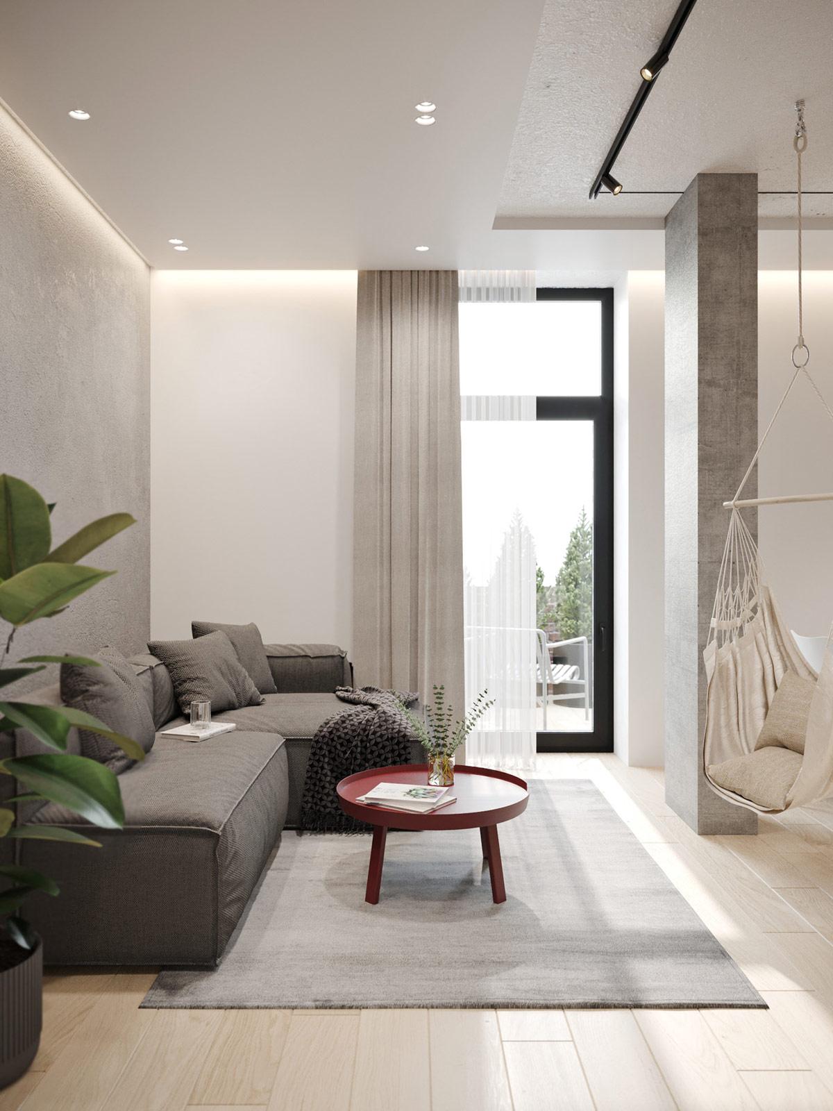 Décoration : Petits espaces aux accents de couleur exclusifs