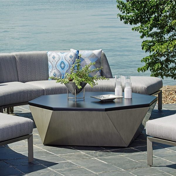 51 Outdoor Coffee Tables To Center Your, Metal Patio Coffee Table