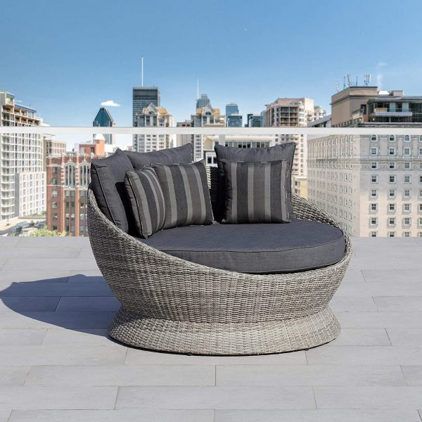 51 Outdoor Daybeds For Indulgent, Large Round Cushions For Outdoor Furniture