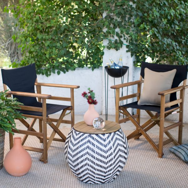 51 Outdoor Coffee Tables To Center Your, Small Deck Patio Furniture