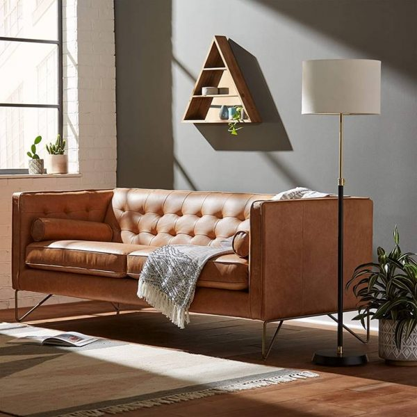 51 Leather Sofas To Add Effortless, Where Are World Of Leather Sofas Made