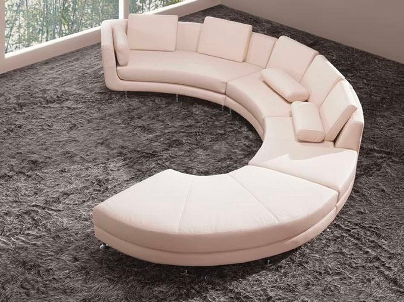 51 Curved Sofas That Make Lounging Look