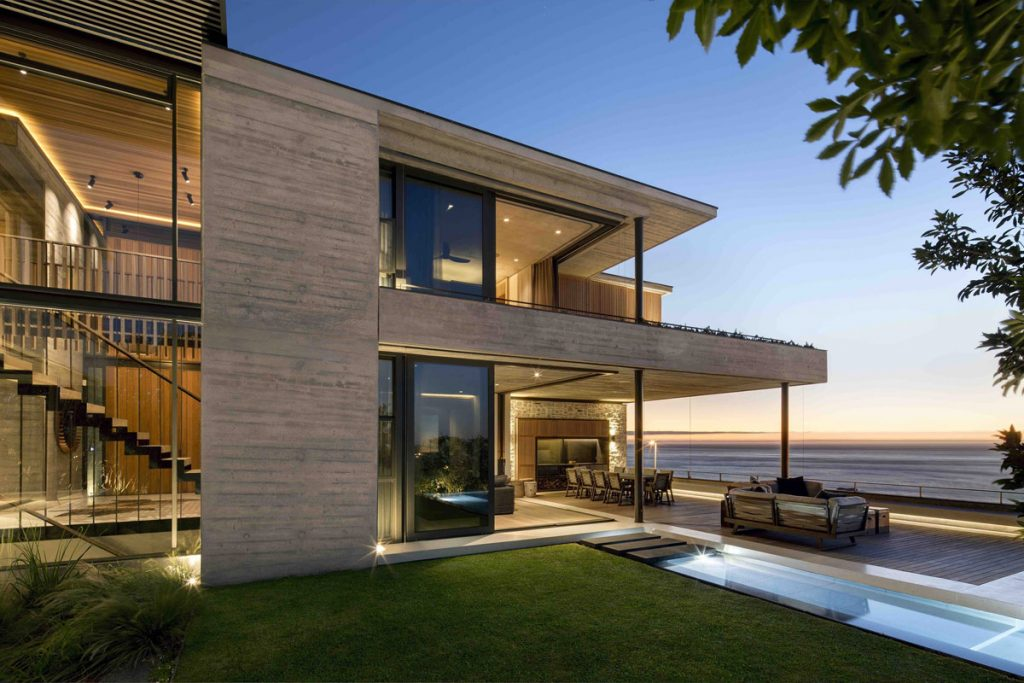 Stacked Luxury Home Design On Cape Town's Atlantic Seaboard