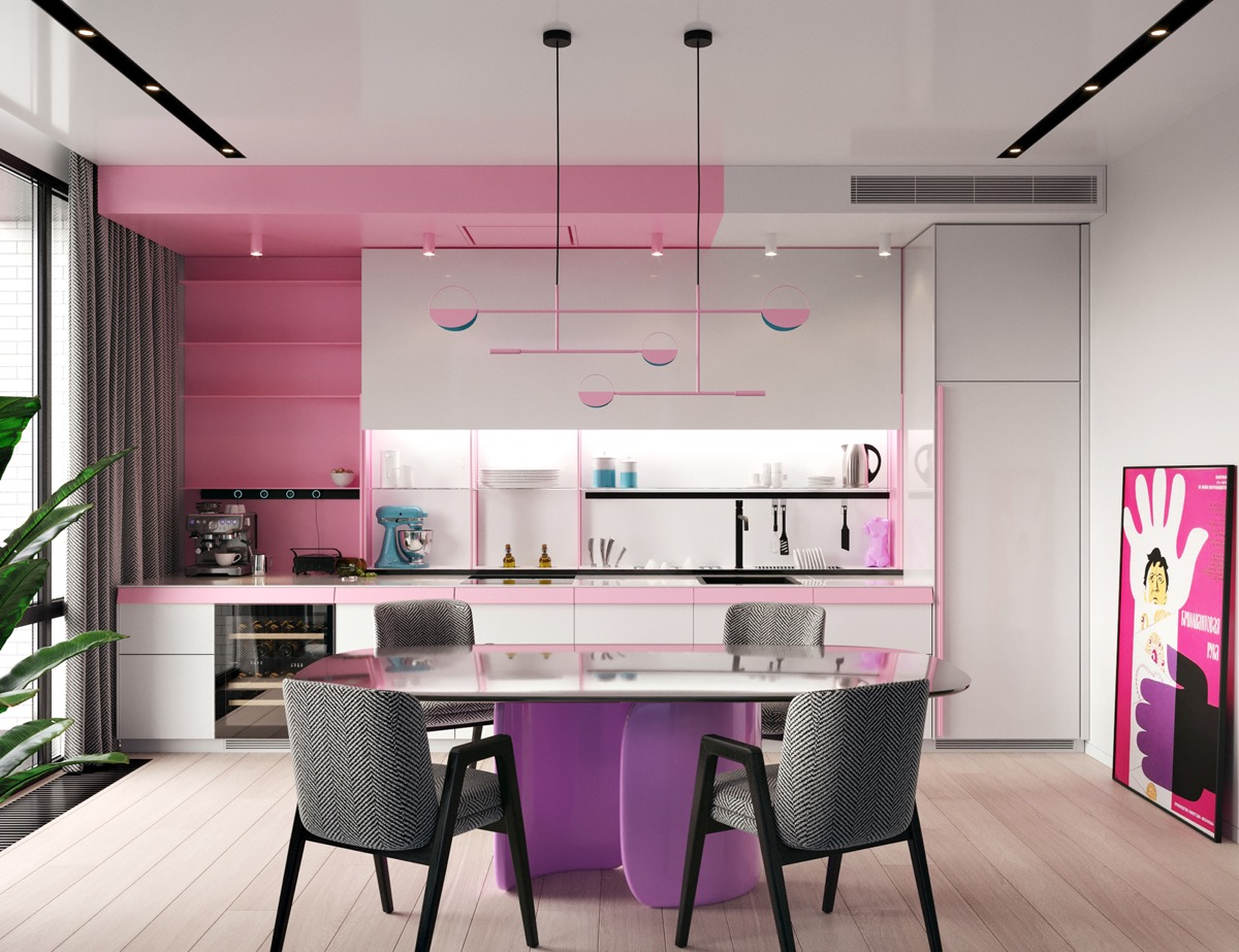 Taking Pink And Purple Interior Design From Sublime To Outrageous