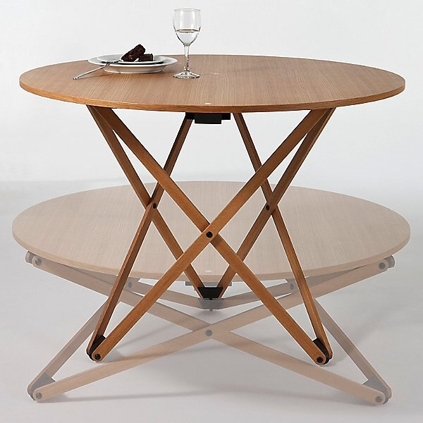 51 Small Dining Tables To Save Space, Fold Up Round Table