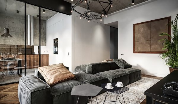 Upmarket Pads With Industrial Vibes