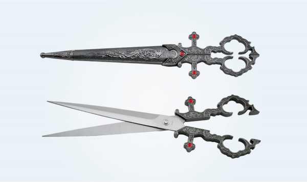 Product Of The Week: Scissors Shaped Like A Medieval Dagger