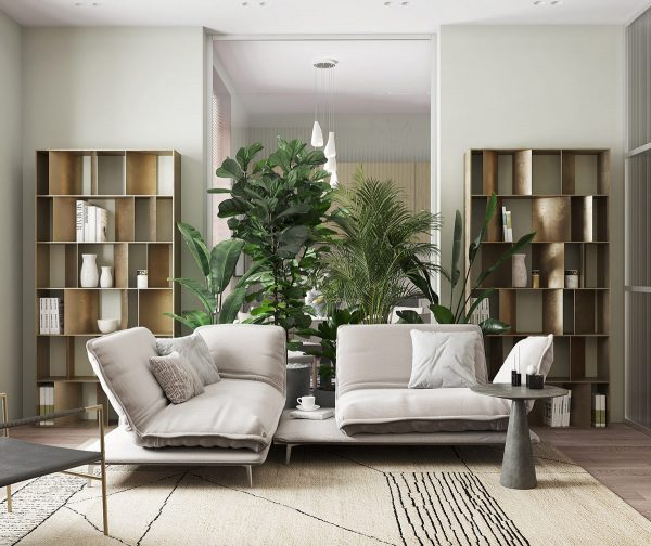 The Peaceful Effects Of Pale Green Decor