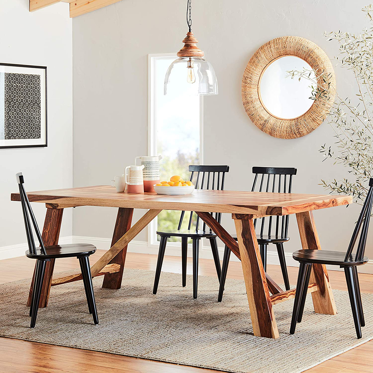 9 Farmhouse Dining Tables that are Overflowing with Rustic Charm