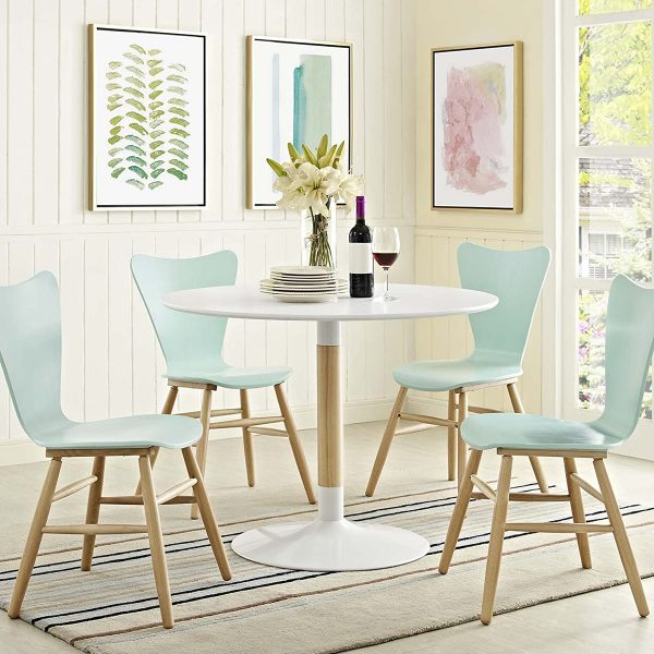 51 Pedestal Dining Tables That Offer, Round White Dining Table With Pedestal Base