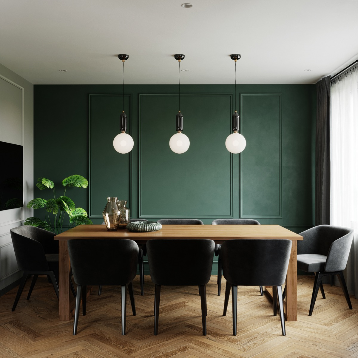 51 Gorgeous Green Dining Rooms With Tips And Accessories To Help You Design Yours