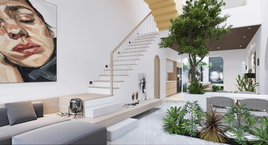 Modern Vietnamese Homes With Green Atriums