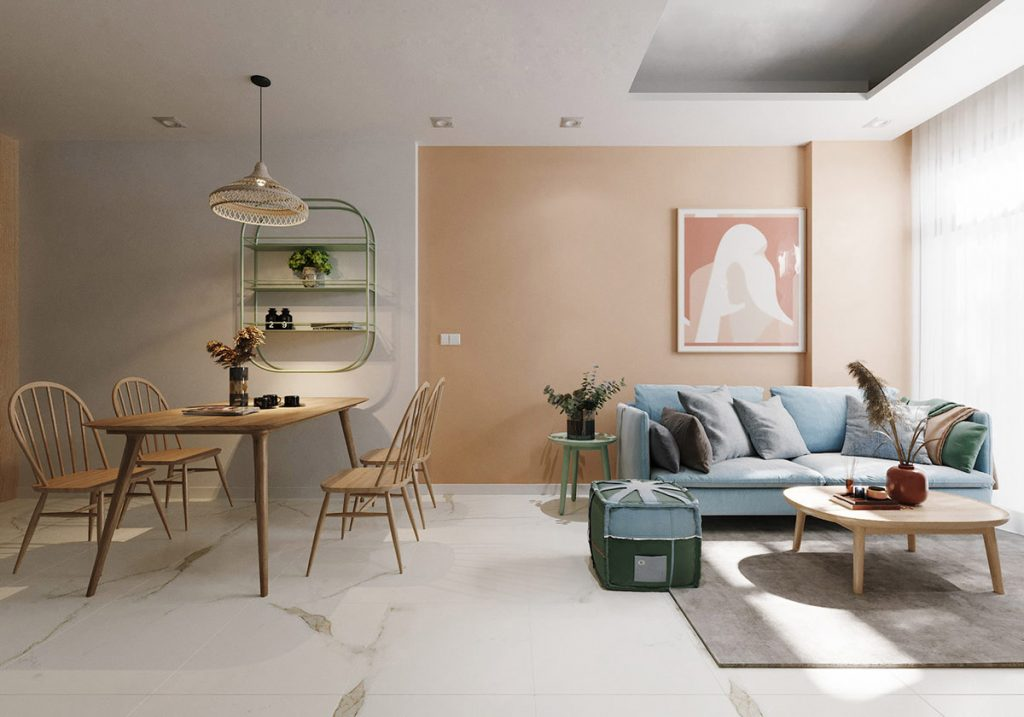 Combining Calming Colours To Make Restful Modern Interiors