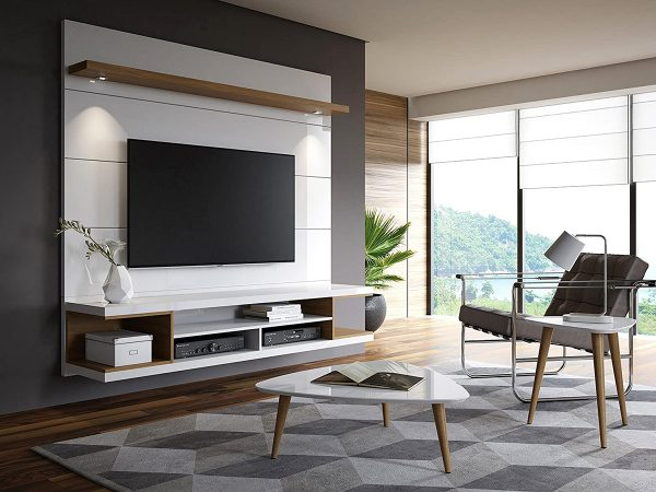 51 Floating Tv Stands To Binge Your Favorite Shows In Style