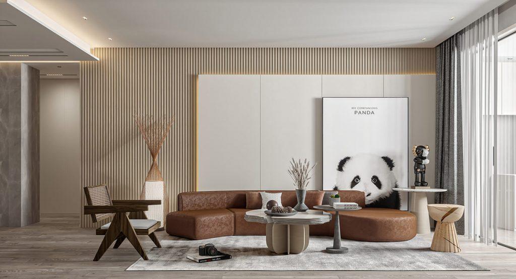Interiors That Exude Warmth Through Soft Brown & Grey Decor