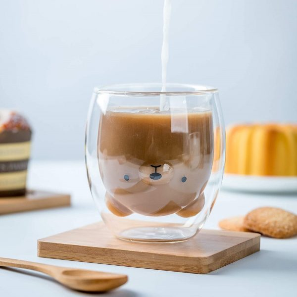 Product Of The Week: A Cute Double Walled Bear Glass