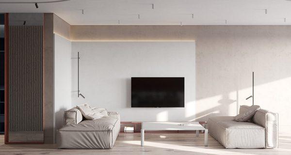 Modern Red And Blue Interior Design Inspiration