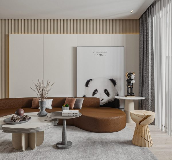 Interiors That Exude Warmth Through Soft Brown & Grey Decor