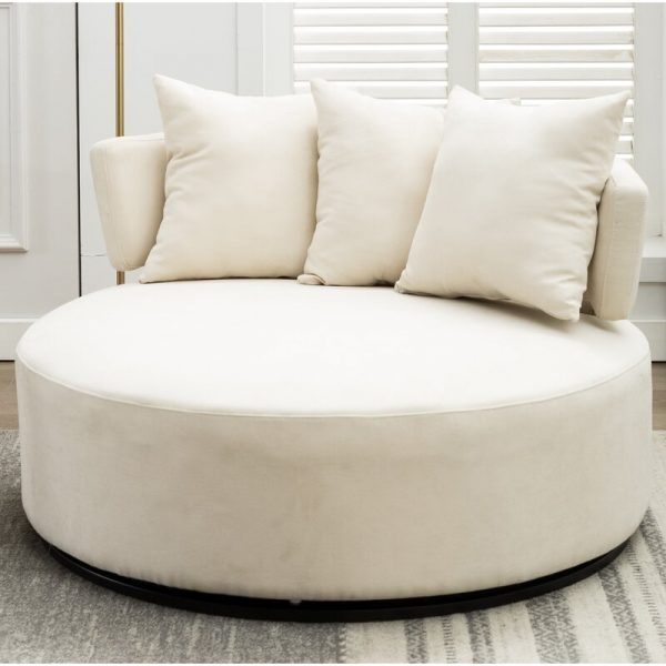 51 Oversized Chairs That Make The Case, Large Round Sofa Chair