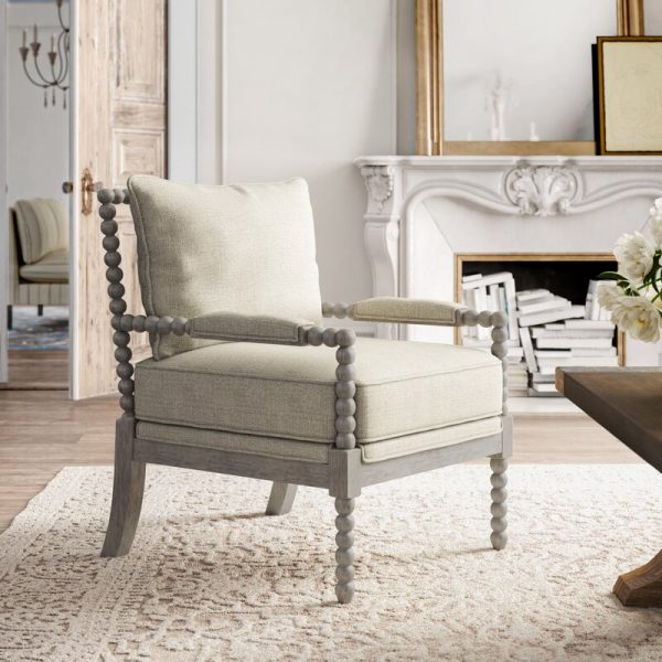 Armchairs That Add Effortless Comfort, Occasional Chairs With Wood Arms