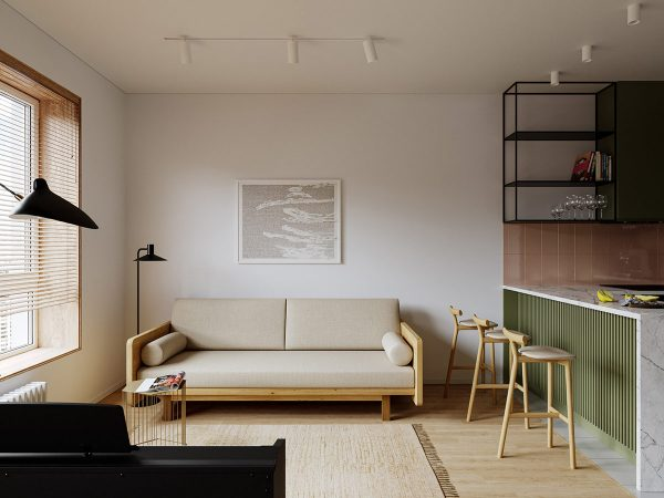 Playing With Colour In Small Spaces Under 40 Sqm (Plus Floor Plan Inspiration)