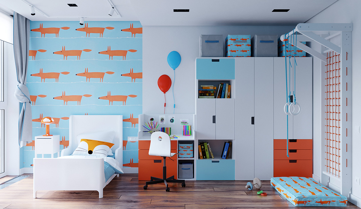 51 Modern Kid's Room Ideas With Tips & Accessories To Help You Design Yours Best Children's Lighting & Home Decor Online Store