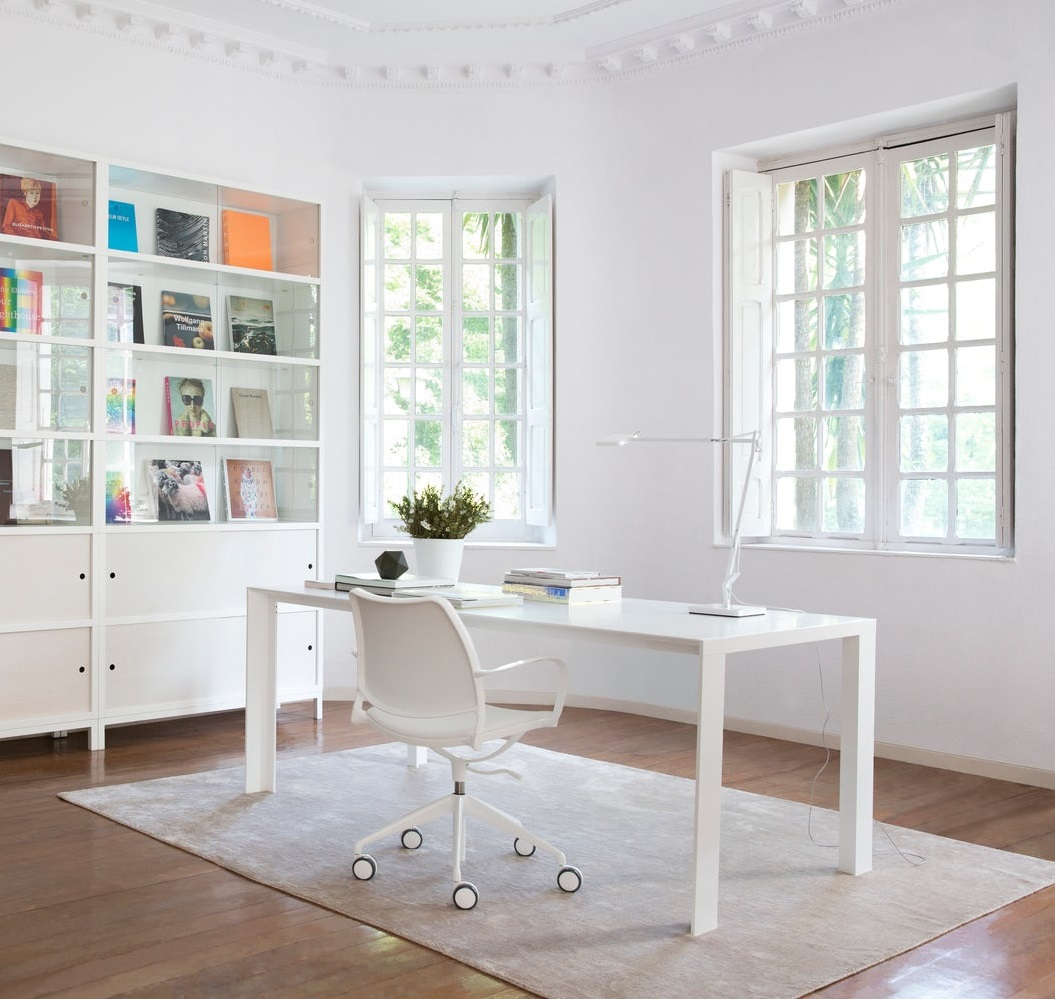 51 White Office Chairs To Brighten Your, White Computer Desk Chairs