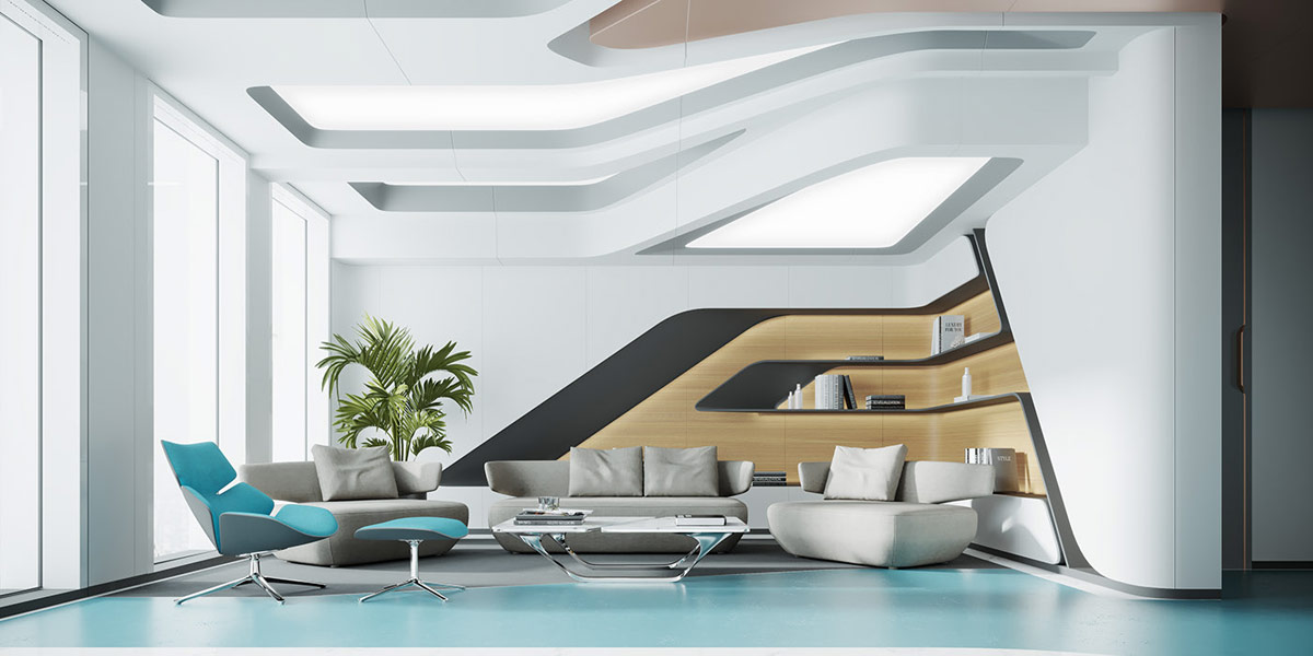 Futuristic Home Interiors Shaped By Technological Inspiration