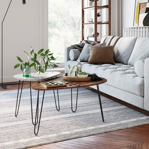 51 Small Coffee Tables To Fit Any, Little Tables For Living Room