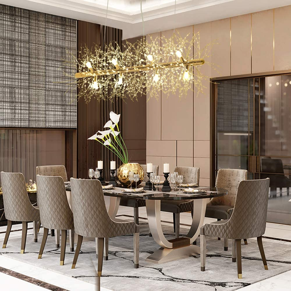 51 Crystal Chandeliers To Hypnotize, Where To Place Chandelier In Dining Room