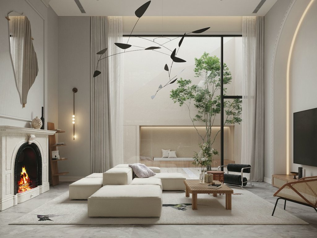 Light & Luxe Modern Home Interiors From China