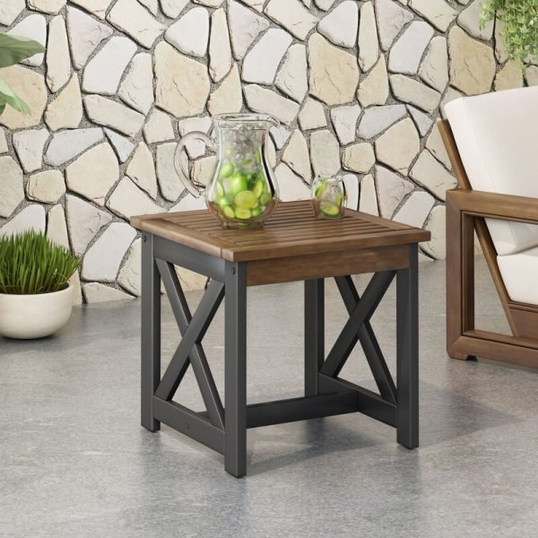 51 Outdoor Side Tables That Will Add, Metal Patio End Tables