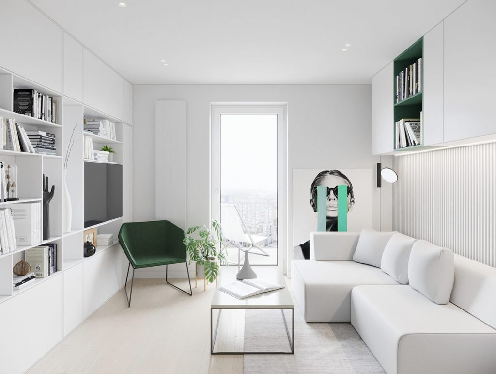 Super Small Homes With Sleek Interior Styling (Plus Floor Plans Under 30 Sqm)