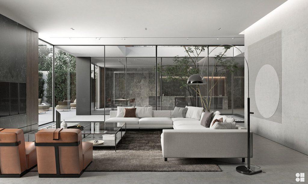 Seductive Belgian Home Interior (With Floor Plans)