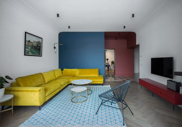 Red, Yellow And Blue Interiors That Offer Colourful Contrast