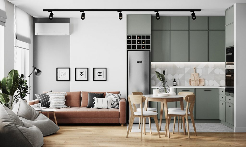 Creating Chilled Modern Interiors Under 50 Square Metres
