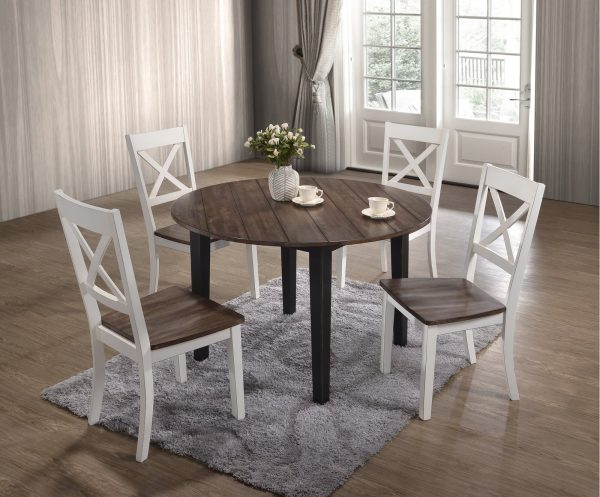 51 Farmhouse Dining Tables For, Round Farmhouse Kitchen Table Sets