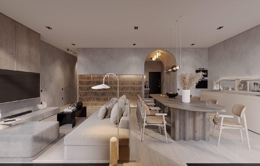 Moulding Restful Modern Spaces