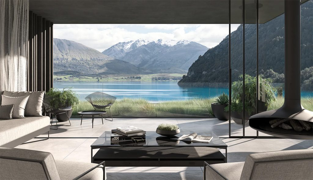 Spectacularly Scenic Villas In New Zealand [Visualized]
